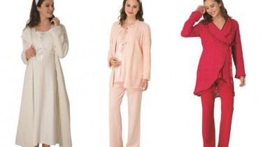 2016 Yılı Hamile Pijamaları ve Lohusa Gecelikleri
