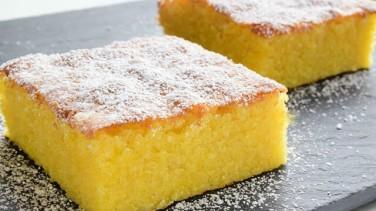 Limonlu Brownie Kek