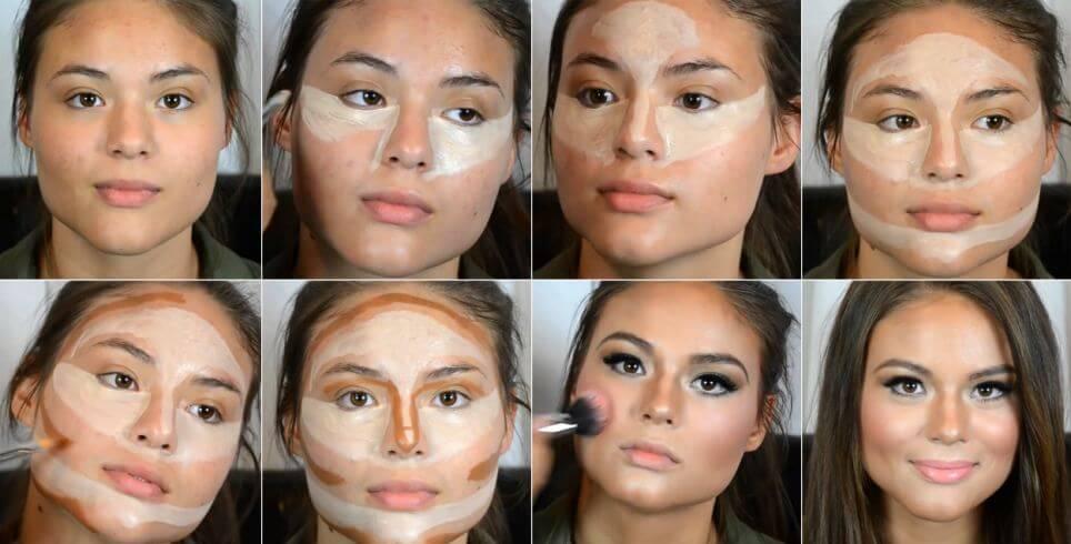 Yüzünüzü daha ince ve zayıf göstermek